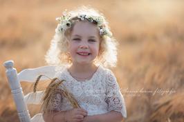 Blumenkranz Fotografie für Erwachsene und größere Kinder