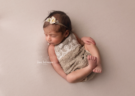 Baby Fotografie Outfit  mit Haarband