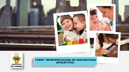 """CURSO (PAGO CON TARJETA) """"Neuropsicología en Discapacidad Intelectual: Evaluación e Intervención"""""""