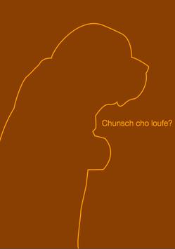 Postkarte Chunsch cho loufe? 206