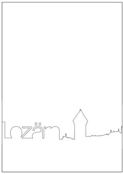 Postkarte Lozärn 203