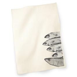 Geschirrtuch mit Siebdruck Fisch3 20192222