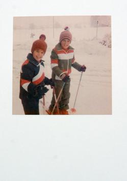Postkarte Ski 20191102