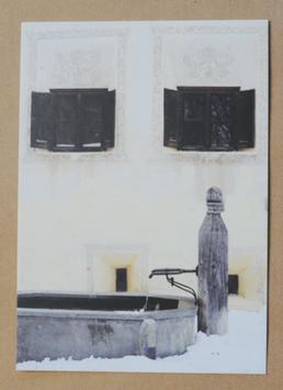 Postkarte Sgraffito Brunnen 201993