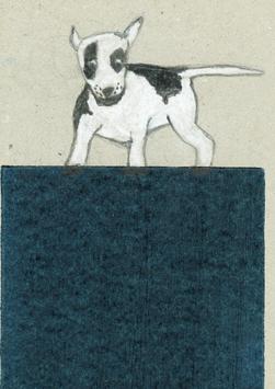 Postkarte Illu Hund 20192727