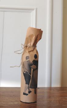 Flaschenverpackung mit Tracht 6Stk. 20162 in Cellophanhülle