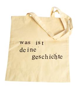 Stofftaschen dünn mit Text