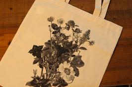 Stofftaschen dünn mit Blumen