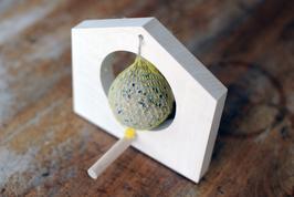Vogelhäuschen oder Apfelpicker 201612 mit Stoffbeutel