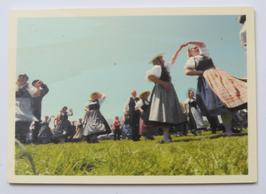 Holzpostkarte Trachtenfest 140
