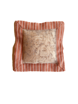 """Stone pine pillow 19x19 cm  - filled with 100% pure natural untreated Swiss stone pine wood chips called """"Zirbe, Zirbelkiefer or Arve"""""""