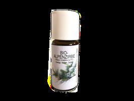 Etherische Olie Bio Alpenden, 10 ml, 100% zuivere olie van de Alpenden (Zirbe, Arve, Zirbelkiefer, Pinus Cembra), Bio Zirbenöl