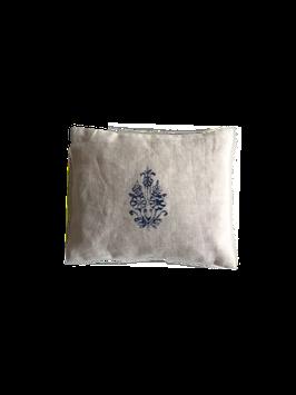Alpenden kussentje 16x14 cm - gevuld met 100% zuiver onbehandelde houtsnippers van de Alpenden (Zirbe, Arve, Zirbelkiefer, Pinus Cembra)