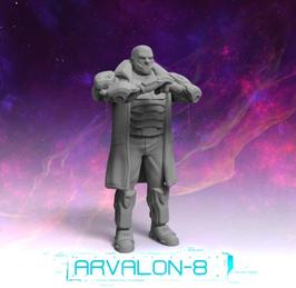Arvalon Crew O´Rvos Cyborg Schläger