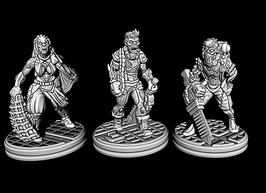 bewaffnete Mutanten / Zombies