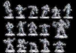 Fantasy Football Team - Menschen / Human Line (16 Miniaturen)