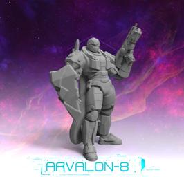 Arvalon Crew Aucord Schildwache