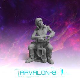 Arvalon Crew Tammy Croft Prothesen-Technikerin