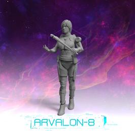 Arvalon Crew Kayla Antriebsexpertin