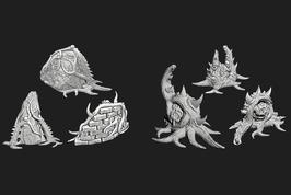 Alien Pflanzen Set
