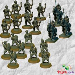 Brite Minis Sarazenen Armee (19 Modelle)