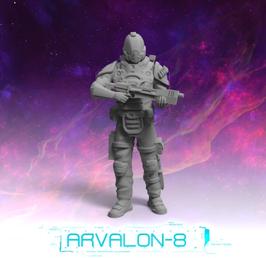 Arvalon Crew Charles Styles Wache