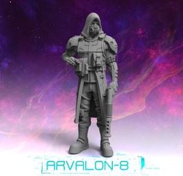 Arvalon Crew Ysunar Em Cyborg-Einheit