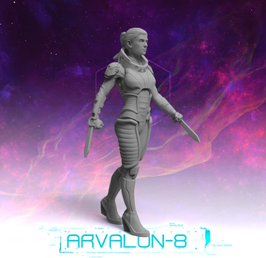 Arvalon Crew Zuri Ocano Nahkampfexpertin