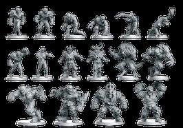 Fantasy Football Team - Untote / Eternals (16 Miniaturen)