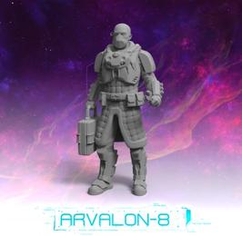 "Arvalon Crew ""The Postman"" Kommunikationstechniker"