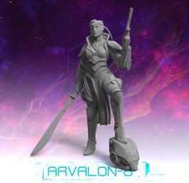 Arvalon Crew Kelsea Kopfjägerin