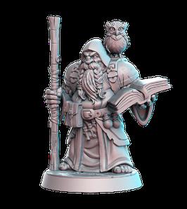 Dramnir Zwerg Magier / Gelehrter