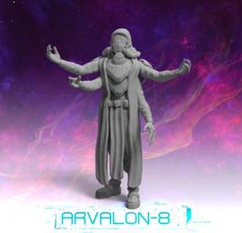 Arvalon Crew XCB Alien Übersetzer