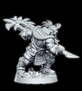 Gandharr, Zwerg Monsterjäger