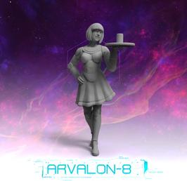Arvalon Crew Yufi kybernetische Bedienung