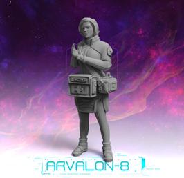 Arvalon Crew Jenn Larkin Medic