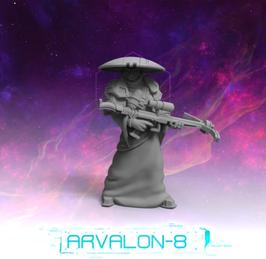 Arvalon Crew Enyo Armbrustschützin