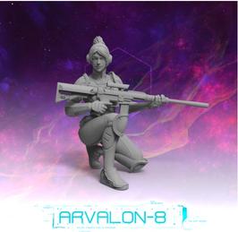 Arvalon Crew Gina Quan Scharfschützin