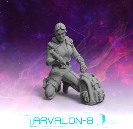 Arvalon Crew Rayina Hex Außenteam