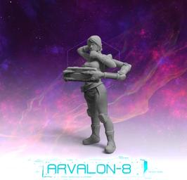 Arvalon Crew Trindin Rakeeas Stationsleiterin
