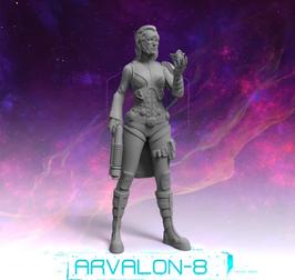 Arvalon Crew Anka Forscherin