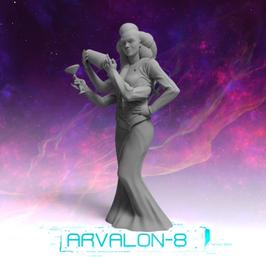 Arvalon Crew Carla Wesk Alien Berühmtheit