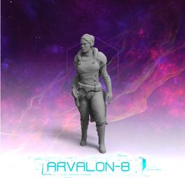 Arvalon Crew Captain O´Hara