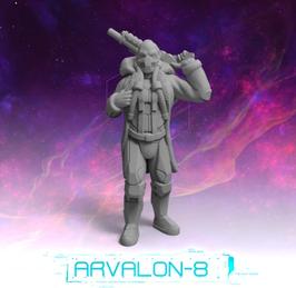 Arvalon Crew Zulian Jäger