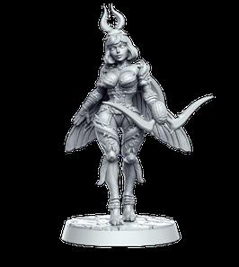 Mina, Skarab-Schützin Monsterjägerin