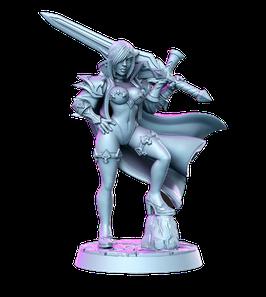 Zeera Elfe Schwertkämpferin