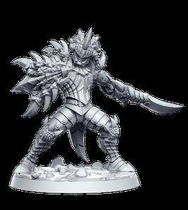 Azzidesh, gepanzerter Monsterjäger