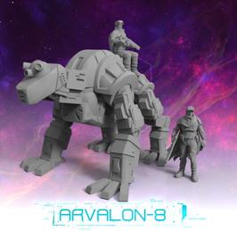 """Arvalon Crew """"Z"""" und Bounder"""