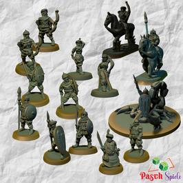 Brite Minis Sarazenen Set (14 Modelle)