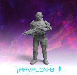 Arvalon Crew Haz Söldnerwache